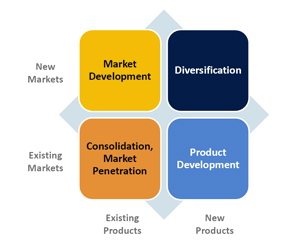 air asia ansoff matrix Ansoff matrix source: wikipediacom horizontal diversification: it is process in which the company will develop activities directly complementary to the company's present activities air asia by joining with awair, an indonesian airline company has implemented horizontal diversification the will help air asia study the.